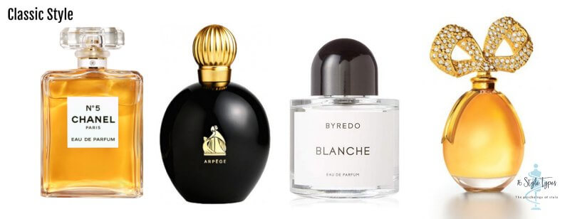 Classic personality dressing style perfume examples - what to wear for your personality