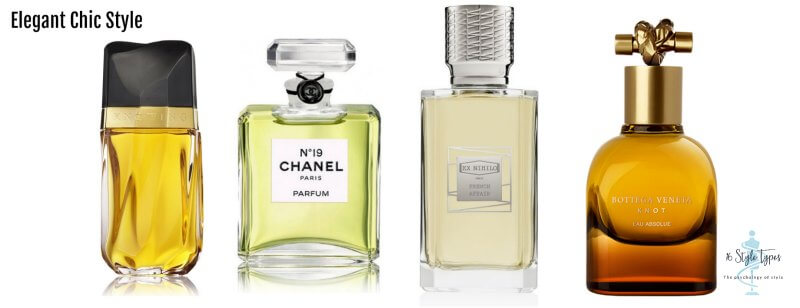 Elegant Chic personality dressing style perfume examples - what to wear for your personality
