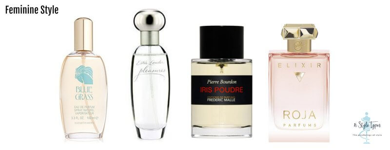 Feminine personality dressing style perfume examples - what to wear for your personality
