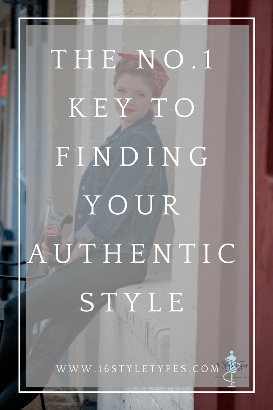 Have you struggled to find your authentic style? Discover the No.1 key to owning your authentic style