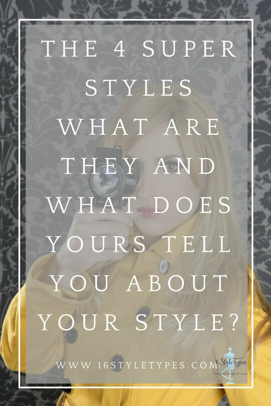 The Super Styles - What Are They And What Does Yours Tell You About Your Style? Discover your Myers Briggs Supers Style