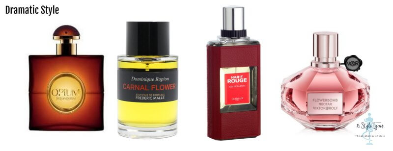 Dramatic personality dressing style perfume examples - what to wear for your personality